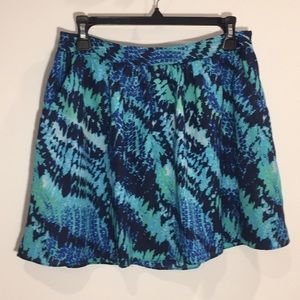 Blue Express Skirt